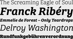 """Bree Serif http://www.fontshop.com/fonts/family/bree_serif/ von Typetogether http://www.fontshop.com/fonts/foundry/typetogether/ via Typefacts """"Die besten Schriften 2013"""" #Serif #Editorial #Mengensatz #Satzschrift #Brotschrift"""