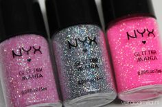 NYX glitter. I wonder if this can be gotten during NYX sales at Ulta.