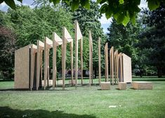 Dream Pavilion by IPT Architects/ outside the V&A Museum of Childhood, London.
