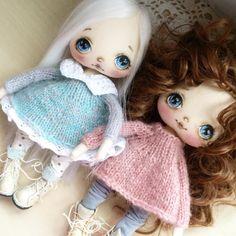 Девочки мои #куклаолли #куколка #кукла #doll #artdoll