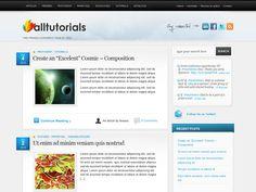 AllTuts Free Wordpress Theme