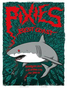 Pixies San Jose Poster by Matt Leunig On Sale