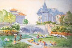 Le pont Magnan à Nice