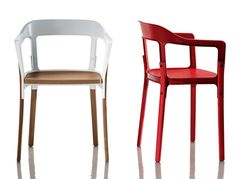 Magis Steelwood Dining Chair designed by Ronan & Erwan Bouroullec