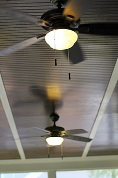 Bead board Ceiling for Screened in porch