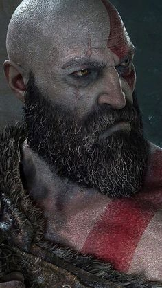 Kratos – God of War Previous Next Check this Top List Article: Best PC Games to Play in 2019 Previous God of War Kratos Artworks Galleries Next God of War Kratos and Atreus – God of War 2019 King's Quest, War Tattoo, Kratos God Of War, Nerd, Little Bit, Gaming Wallpapers, Game Character, Bearded Men, Game Art
