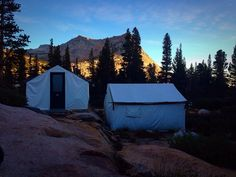 What the heck is a High Sierra Camp? ~ A great description about Yosemite's High Camps from www.highcampkitchen.com