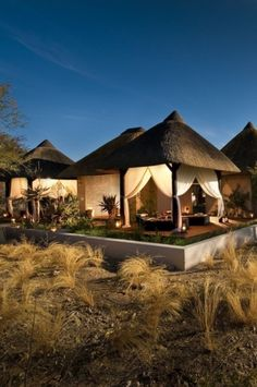 Mokuti Etosha Lodge Namibia is only 4 minutes from Etosha. Our Accommodation provides you with best value for money in the region. Namibia Travel, Africa Travel, Places To Travel, Places To Go, Interior Design Minimalist, Design Jardin, Thatched Roof, Out Of Africa, African Safari