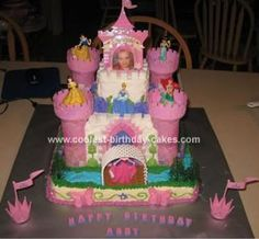 Coolest Princess Castle Cake Princess castle Princess and Cake