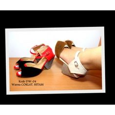 Wedges Kombinasi Warna - AyeshaShop.Com