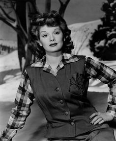 Lucille Ball-Beauty and brains.