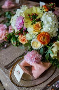 Colorful Garden Wedding Nashville | Riverwood Mansion, Ace Photography, Flowers by Enchanted Florist