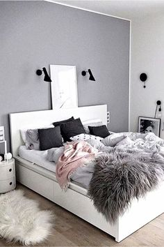 Great Teen Bedroom Color Ideas   Accent Wall   Teenage Room Makeover On A Budget    Cheap