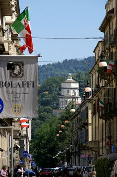 Via Cavour, Turin, Italy Piedmont Italy, Turin Italy, Rome Italy, Santa Maria, Cool Places To Visit, Places To Travel, Ef Tours, Italy Travel, Italy Trip