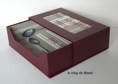 Les cartonnages de MAnel / distributeur de serviettes 40x40 Blog, Decorative Boxes, Home Decor, Cartonnage, Sewing Box, Towels, Decoration Home, Room Decor, Blogging
