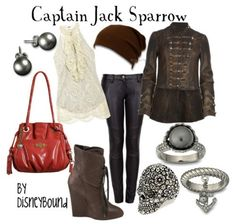 disneyBound-captain jack sparrow