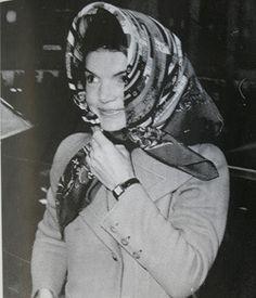 Jackie-kennedy #headscarf