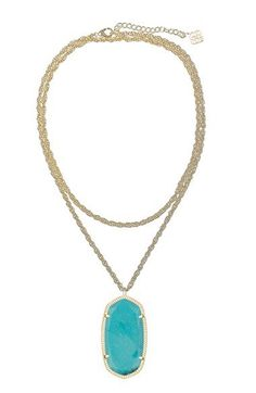 Kendra Scott 'Rae' Long Pendant Necklace | Nordstrom