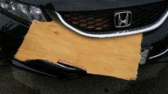 honda, civic, flying object, wood, bumper, grille damages Vancouver, Collision Repair, Honda Civic, Body, Glass, Drinkware, Yuri