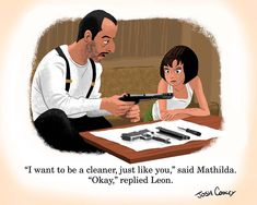 Little Golden Book - Léon: The Professional - Josh Cooley