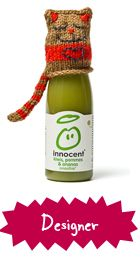 Designer Pattern for Innocent Smoothies Bottles. Want one for my head ! Innocent Drinks, Big Knits, How To Raise Money, Charity, Smoothies, Knitted Hats, Pattern Design, Knitting Patterns, Knit Crochet