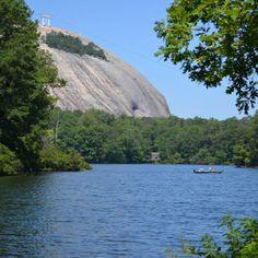 Stone Mountain near Atlanta, GA ~