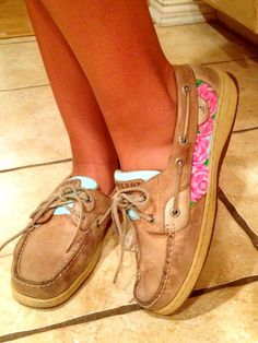 Lilly Sperry's!!! I'd wear sperry's again if I had these!!