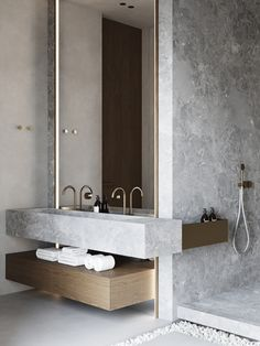 Home Interior Design .Home Interior Design Bathroom Design Inspiration, Modern Bathroom Design, Bathroom Interior Design, Bathroom Designs, Design Ideas, Design Trends, Large Bathrooms, Small Bathroom, Zen Bathroom