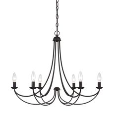 A clean design enhanced by an imperial bronze finish, Mirren is more transitional with a less formal styling.  The sweeping arms create a slim silhouette and the candelabra bulbs emit a soft light for a warm, romantic glow.