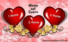Nome nel Cuore | Cuore 17/2 Greetings Images, Images Gif, Emoticon, 3, Gifts, Camilla, San Valentino, Betty Boop, Grand Canyon