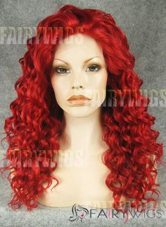 Top fashion for Halloween in best sale synthetic afro kinky brown red wig Bright Red Hair, Bright Hair Colors, Synthetic Lace Front Wigs, Synthetic Wigs, Red Hair Texture, Red Lace Front Wig, Red Hair Inspiration, Red Hair With Highlights, Buy Wigs