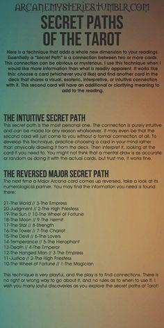 Tarot Tips. http://arcanemysteries.tumblr.com/