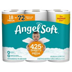 Bathroom Toilet Paper Holders, Toilet Paper Roll, Dorm Necessities, Paper Angel, Sewer System, Recycling Facility, Walmart Deals, Money Saving Mom, Sustainable Forestry