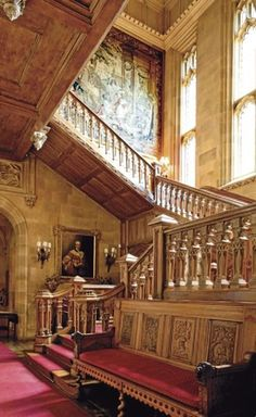 Downton Abbey - Grand Staircase