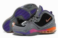 2015 For Sale Air Penny Hardaway 5 V Mens Shoes Discount Grey Black Pueple…