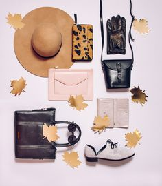 Feel That Chill | Fashion Journal Flat Lay