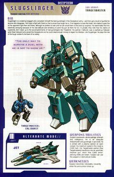 Transformers: Decepticon - Targetmaster - Slugslinger w/ Caliburst