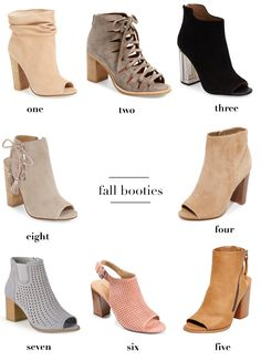 Fall booties for every budget. Boots for Fall under $200. Fall booties under…