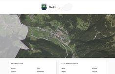 Screenshot der Gemeinde Oetz, Tirol, auf Similio, dem mehrsprachigen Geographie- & Informationsportal über Österreich. Geographie, Wirtschaftskunde, Statistik Desktop Screenshot, Statistics, Communities Unit, Economics, Alps, Things To Do, Landscape, Pictures