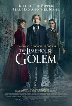 Bill Nighy, Douglas Booth, and Olivia Cooke in The Limehouse Golem (2016)