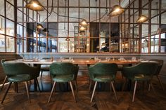 Deak St. Kitchen & Kupola Lounge café by B3 Designers, Budapest – Hungary » Retail Design Blog