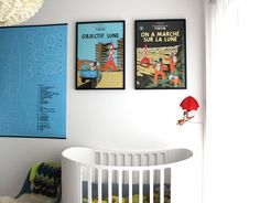 Tintin French Cover Art Prints. Purchase Online at Pop Motif. http://popmotif.co.nz/collections/herge-art-prints