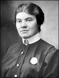 Mary Sullivan, first female police detective of NYPD. 1911.