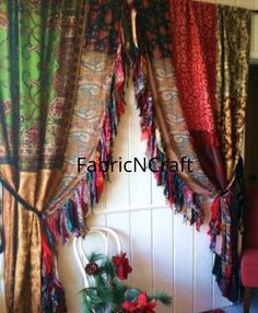 Bed Drapes, Silk Curtains, Hanging Curtains, Bedroom Curtains, Roman Curtains, Roman Blinds, Burlap Curtains, Floral Curtains, Diy Bedroom