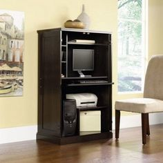 Office Computer Desk Executive Home Furniture Table Laptop Workstation Armoire #OfiiceComputerDesk #Modern