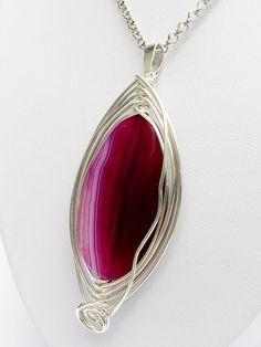 """bySHINE """"MOUSSE"""" MAGICZNY WISIOR wire wrapping  w  Biżuteria ze Szczyptą  Magii * by SHINE na DaWanda.com"""