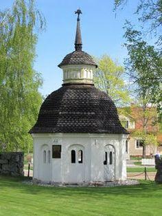 bone house in the cemetery Pietarsaari, Ostrobothnia province of Western Finland.- Pohjanmaa - Österbotten