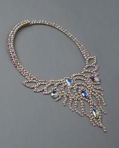 Serena Crystal Necklace DCX612   Dancesport Fashion @ DanceShopper.com