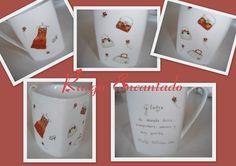 Jarros - Pintura sobre porcelana
