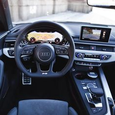 The new A4 interior really sets another level in its class. Heads up display virtual cockpit side lane assist etc etc. The list can be long. What a car. Car: 2016 @Audi A4 3.0TDI quattro S-line (272hp V6 diesel) Color: Daytona grey metallic Performance: 0-100kmh/62mph: 5.3 seconds (official) Top speed: 250km/h (electr limited) Location: Malmö Sweden Facebook: http://ift.tt/1sUXuHP Camera & lens: Canon Eos 5D Mark II / 24-70mm Thanks to: Audi Malmö (@audimalmohbg) #audi #a4 #quattro #audia4…